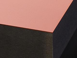 導光板金型 加工実例イメージ